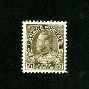 Canada Stamps # 120 XF OG LH Catalog Value $90.00