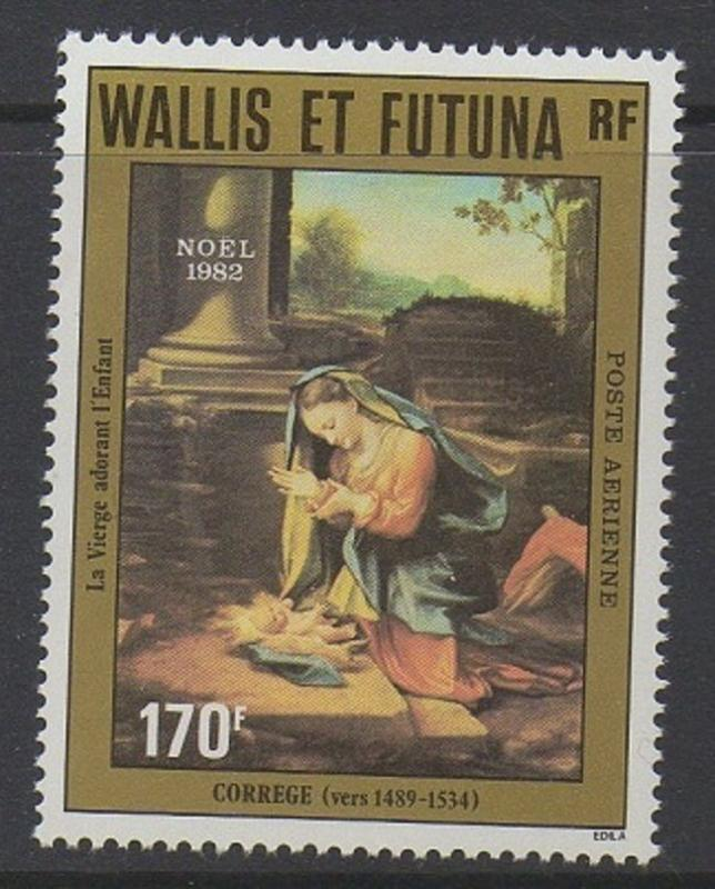 Wallis & Futuna 1982 Christmas Virgin VF MNH (C118)