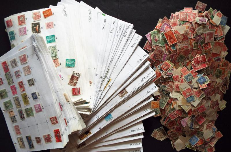 Massive Worldwide Dated Cancel Collection Chronological 1963-1988