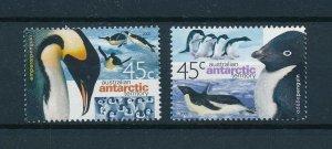 [102940] Australian Antarctic Territory 2000 Birds vögel penguins  MNH