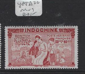 INDOCHINA  (PP1204B)  Y&T  A22  MOG