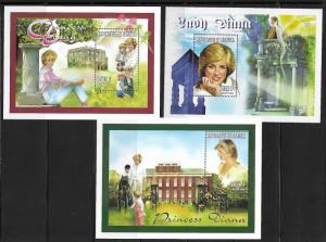 Senegal 1303-7 Princess Diana Mint NH