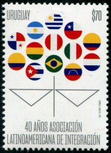 HERRICKSTAMP NEW ISSUES URUGUAY Latin American Integration Assoc.