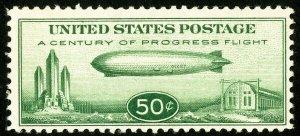 US Stamps # C18 MNH VF PO Fresh Zeppelin