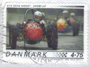 DENMARK SC# 1357 **USED**  4.75k  2006  RACE CAR SEE SCAN