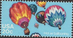 # 2033 MINT NEVER HINGED HOT AIR BALLOONING
