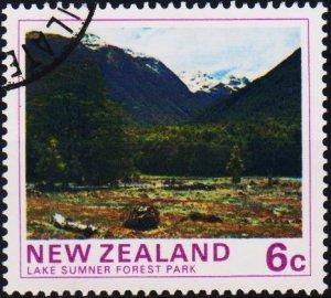 New Zealand. 1975 6c S.G.1075 Fine Used