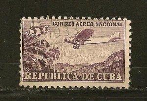 Cuba C12 Airmail Used