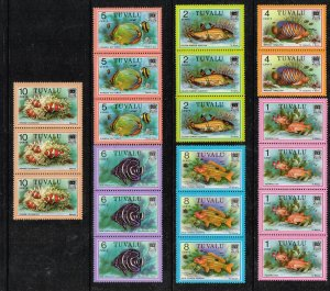 UK STAMP TUVALU MNH STAMPS COLLECTION LOT  #L1