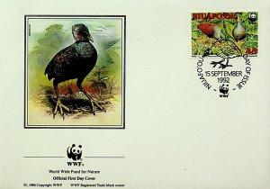 Niuafo'ou Tonga FDC Birds 1992