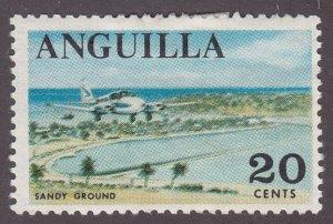 Anguilla 25 Sandy Ground 1967