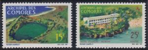 Comoro Islands 67-68 MNH (1968)