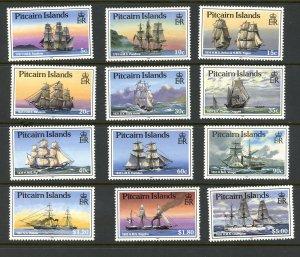 Pitcairn Islands 298-309 MNH 1988