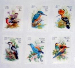 Hungary - 3224-29, MNH Set. Protected Birds. SCV - $4.35