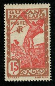 Guyane Francaise, RF, 15C, MNH, ** (T-8844)