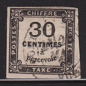 France J7 neat cancel VF scott cv $ 125 ! see pic !