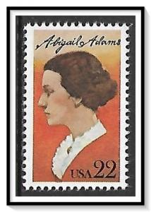 US #2146 Abigail Adams MNH
