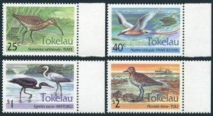 Tokelau 190-93,193a sheet,MNH.Michel 196-199,Bl.2. Birds.HONG KONG-1994.