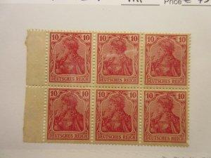 GERMANY  H-Blatt  Michel  1IIaA (perf bottom right)  MINT HINGED  Lot-Z  Cat €45