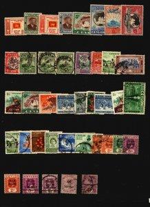 Ceylon 40 Mint & Used - G100