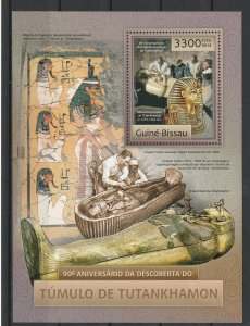 Guinea-Bissau MNH S/S King Tut's Tomb