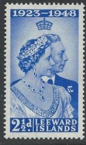 Leeward Islands - 1948 Royal Silver Wedding - 2½d mint - SG117