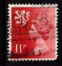 Scotland - #SMH15 Machin Queen Elizabeth II - Used
