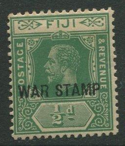 STAMP STATION PERTH Fiji #MR1 War Stamp Issue Die I -1916 - Mint CV$1.90