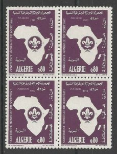1973 Algeria Nairobi Boy Scout Conference block