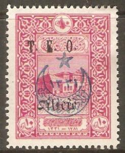Cilicia 1919 Scott 91 Surcharge and overprint on Stamp of Turkey MVLH
