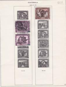guatemala issues of 1973 stamps page ref 18397