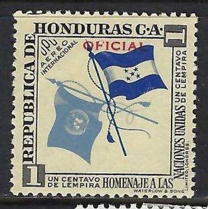 Honduras CO60 MOG FLAGS Z941