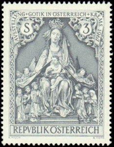 Austria #791, Complete Set, 1967, Never Hinged