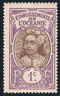 French Polynesia 21 MLH Tahitian Girl (BP4313)