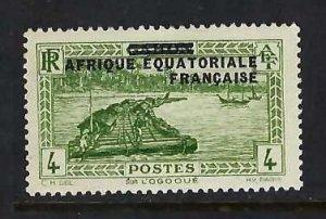 FRENCH EQUATORIAL AFRICA 13 MOG Z477