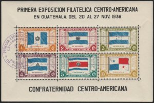 Guatemala #C99 CTO (Used) Souvenir Sheet cv $8
