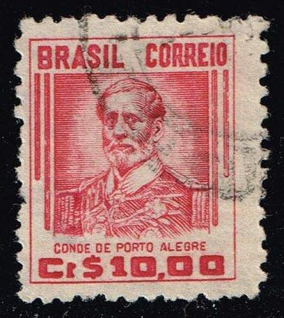 Brazil #668 Count of Porto Alegre; Used (0.25)