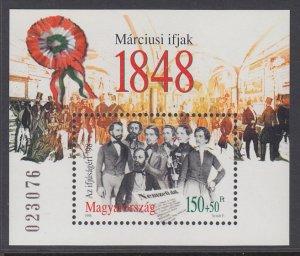 Hungary B364 Souvenir Sheet MNH VF