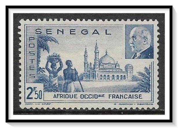 Senegal #194 Vichy Issue NG