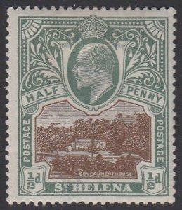 St. Helena 50 MH CV $2.40