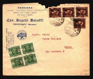Italy 1946 Baruffi Cover / VERY HIGH CV - Z16465