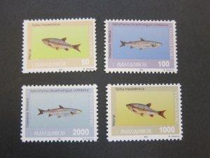 Macedonia 1993 Sc 8-11 set MNH