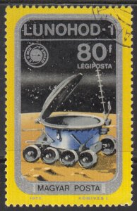 Hungary, Sc C356, CTO-NH, 1975, Lunohod-1