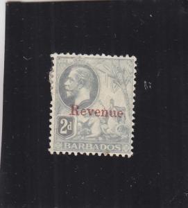 Barbados: Revenue, Sc #5, MH (24631)