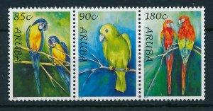 [AR447] Aruba 2010 Birds parrots  MNH