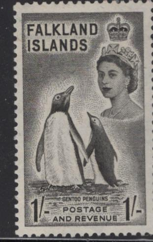 FALKLANDS ISLANDS 127 MINT HINGED PENGUINS ISSUE