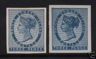 Prince Edward Island #2 XF Unused (No Gum) Imperfs