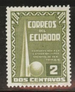 Ecuador Scott 388 MH* 1939  stamp