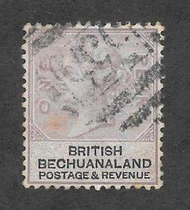 Bechuanaland Scott #11 Used 1p Queen Victoria 2017 CV $4.25