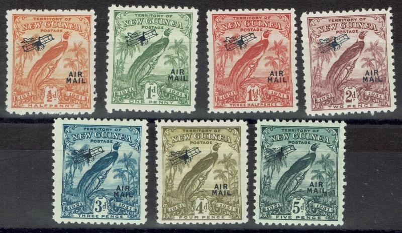 NEW GUINEA 1931 DATED BIRD AIRMAIL 1/2 - 5D